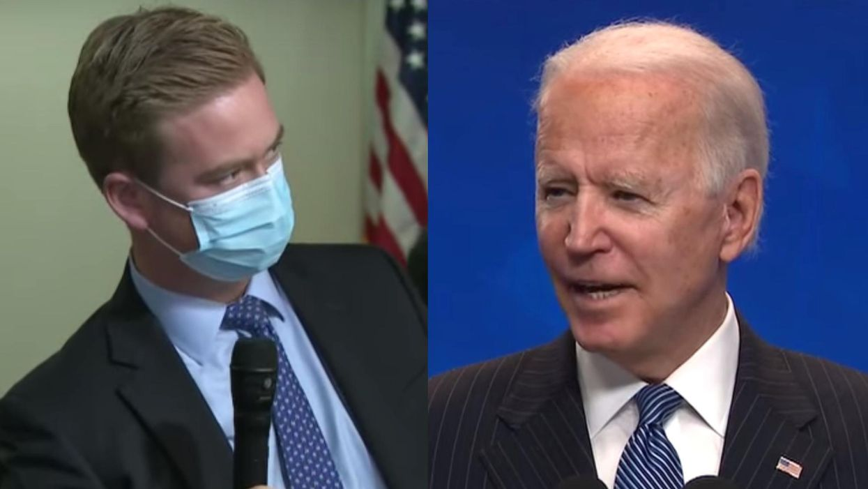 'Bad faith my a**': Brit Hume defends Fox News reporter challenging Joe Biden on contradictory pandemic messages