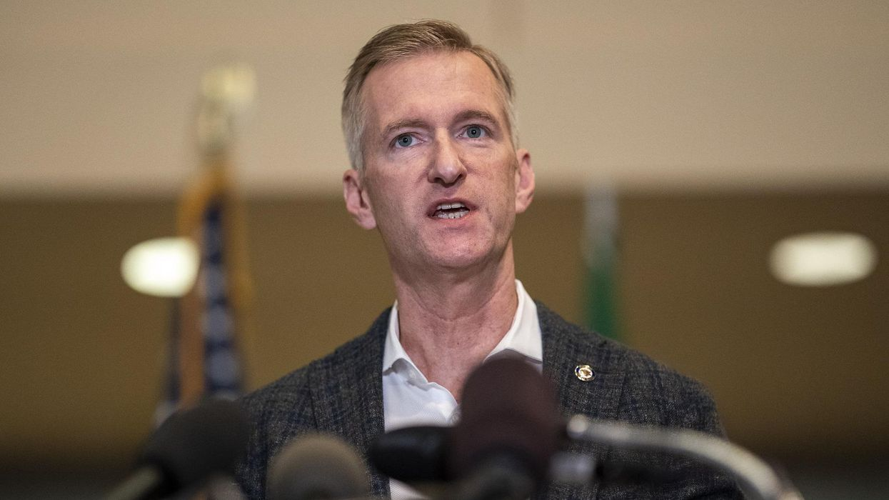 Portland Mayor Ted Wheeler pepper-sprays man who confronted him at pub: 'He was right in my face' and 'he was not wearing a face mask'