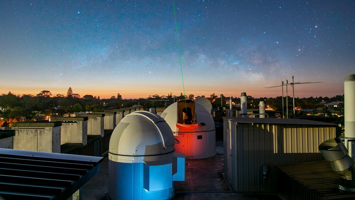 World-record laser transmission could prove Einstein's theory