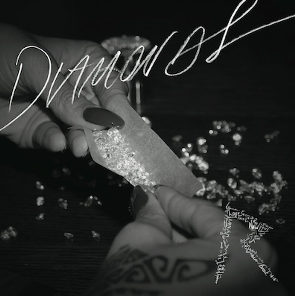 "Listen to Rihanna's New Single, ""Diamonds"""