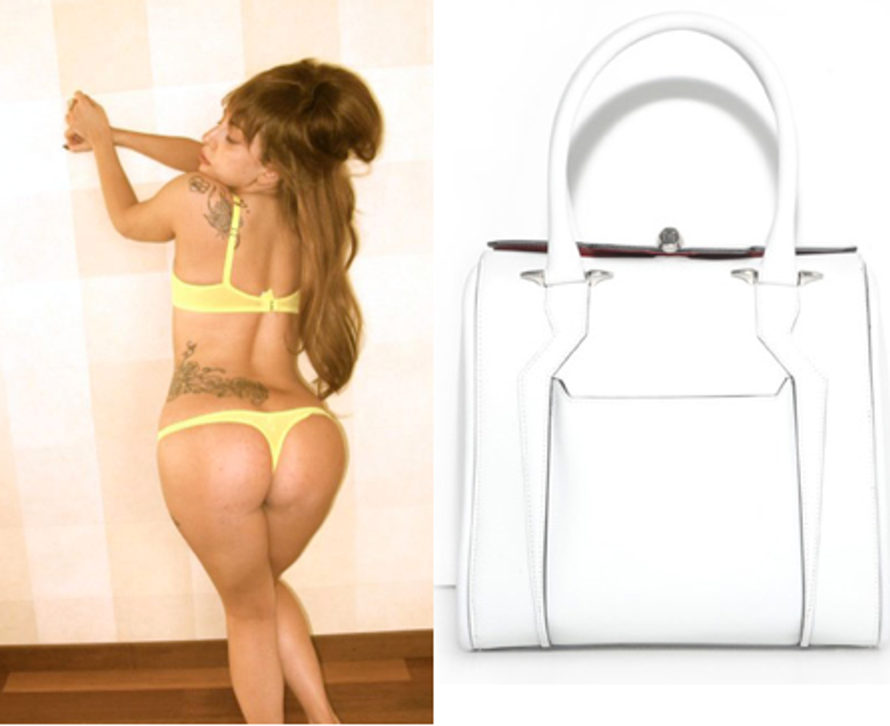 Lady Gaga's Butt Bag + 18-Year-Old Victoria Beckham in Today's Style Scraps