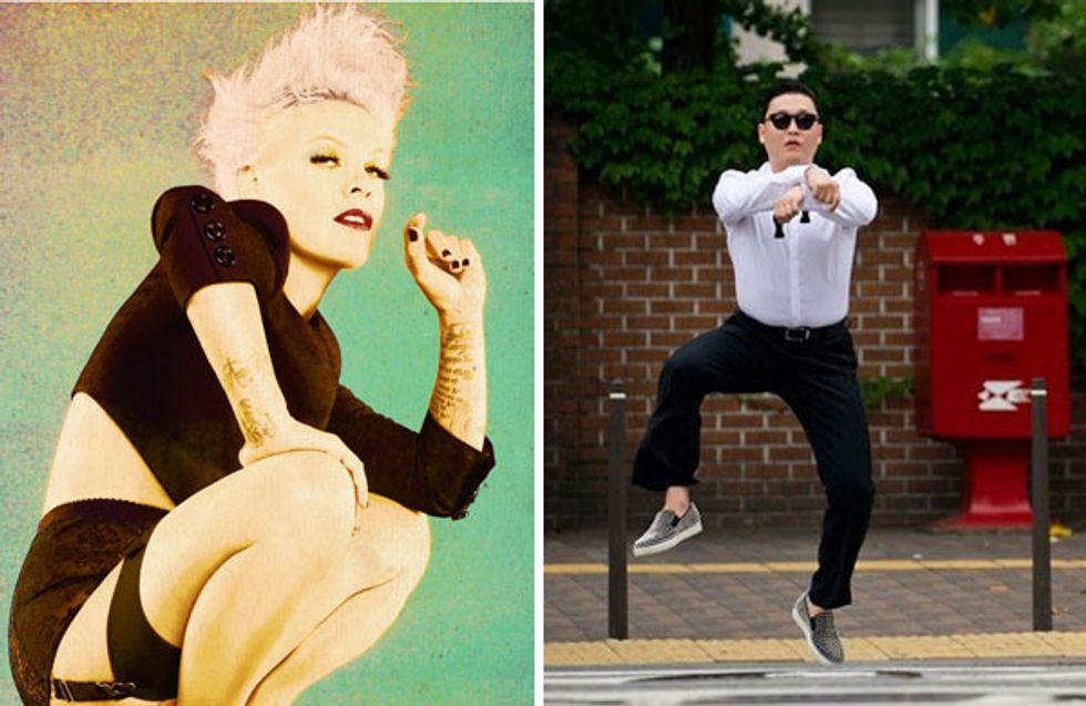 Top of the Pops: Pink's #1 And Psy Fever Rages On