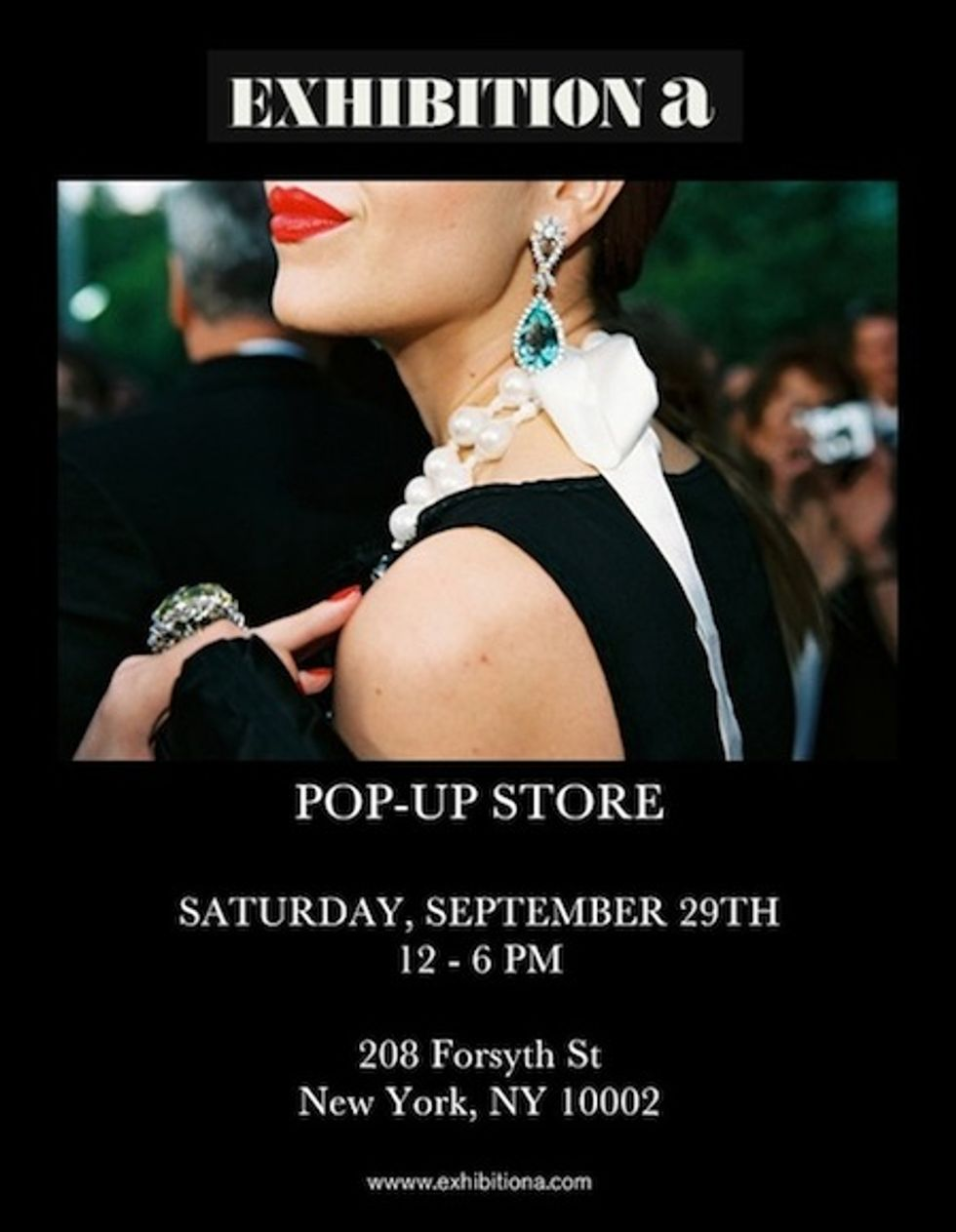 Exhibition A's Pop-Up Store Is Coming This Weekend