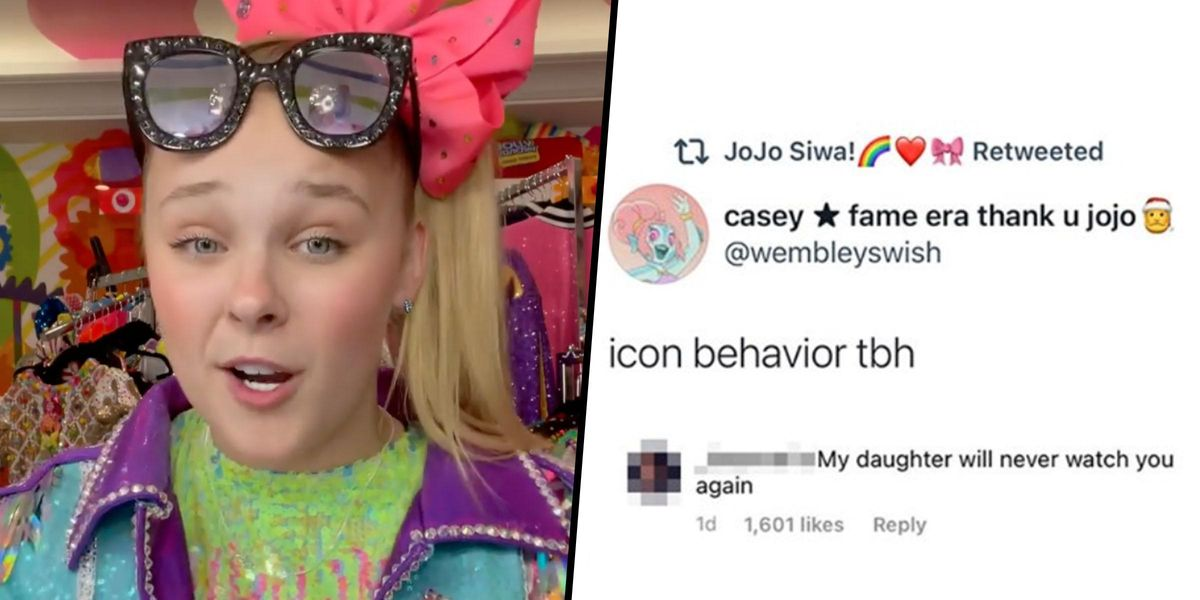 JoJo Siwa Responds To Mom Who Said Her Daughter Would 'Never Watch' JoJo Again After She Came Out