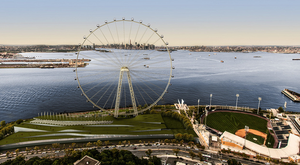 Staten Island Will Soon Lay Claim to the World's Largest Ferris Wheel
