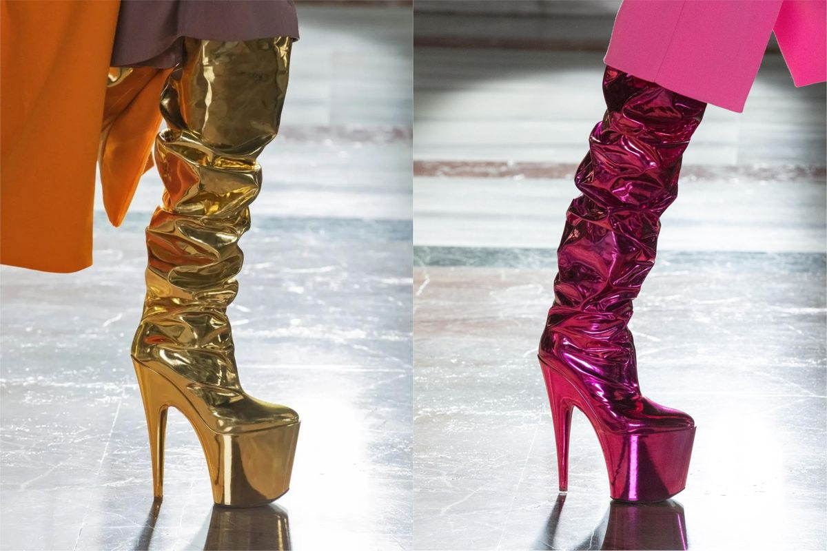 Put These Valentino Stripper Boots on Lady Gaga Immediately