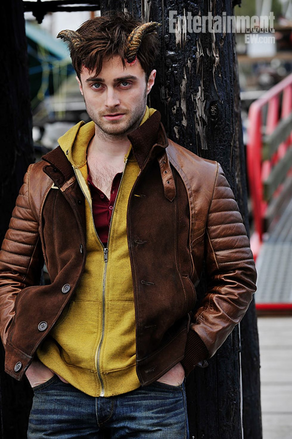 Morning Funnies: Daniel Radcliffe With Horns + Swordfish 2