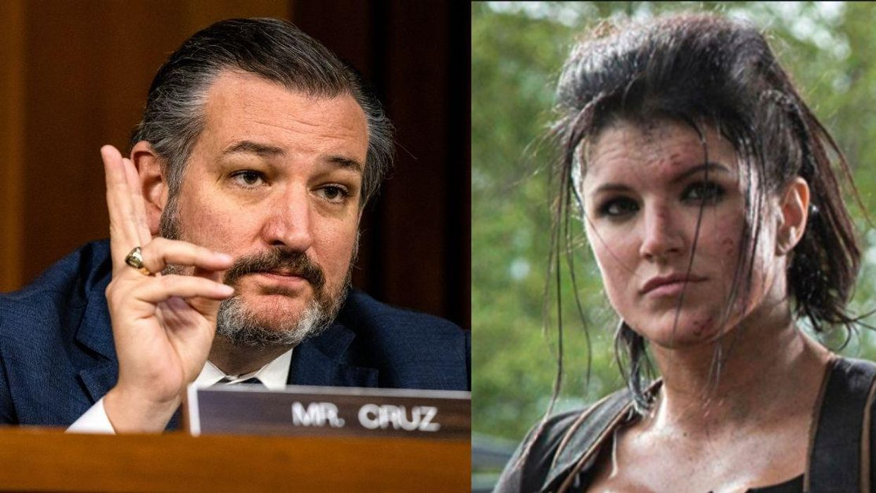 Ted Cruz Schooled After Claiming Gina Carano 'Broke Barriers' For Female 'Star Wars' Characters
