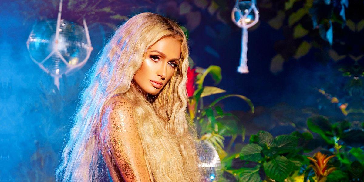 Paris Hilton Keeps V-Day Hot With 'Heartbeat'