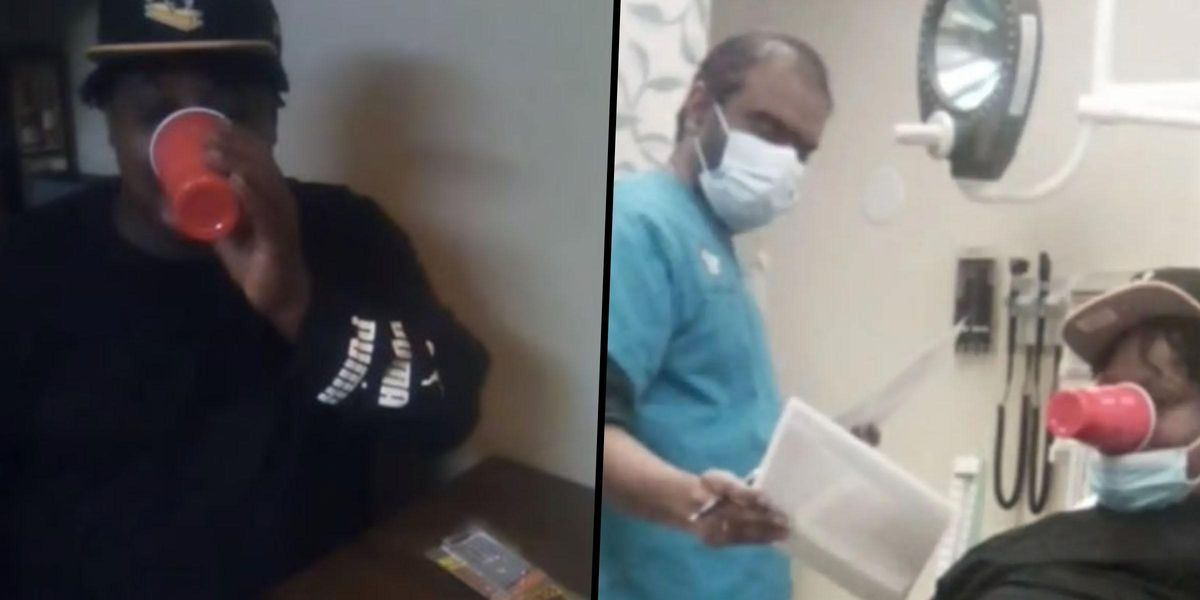 Man Hospitalized After Sticking Cup to His Mouth With Gorilla Glue