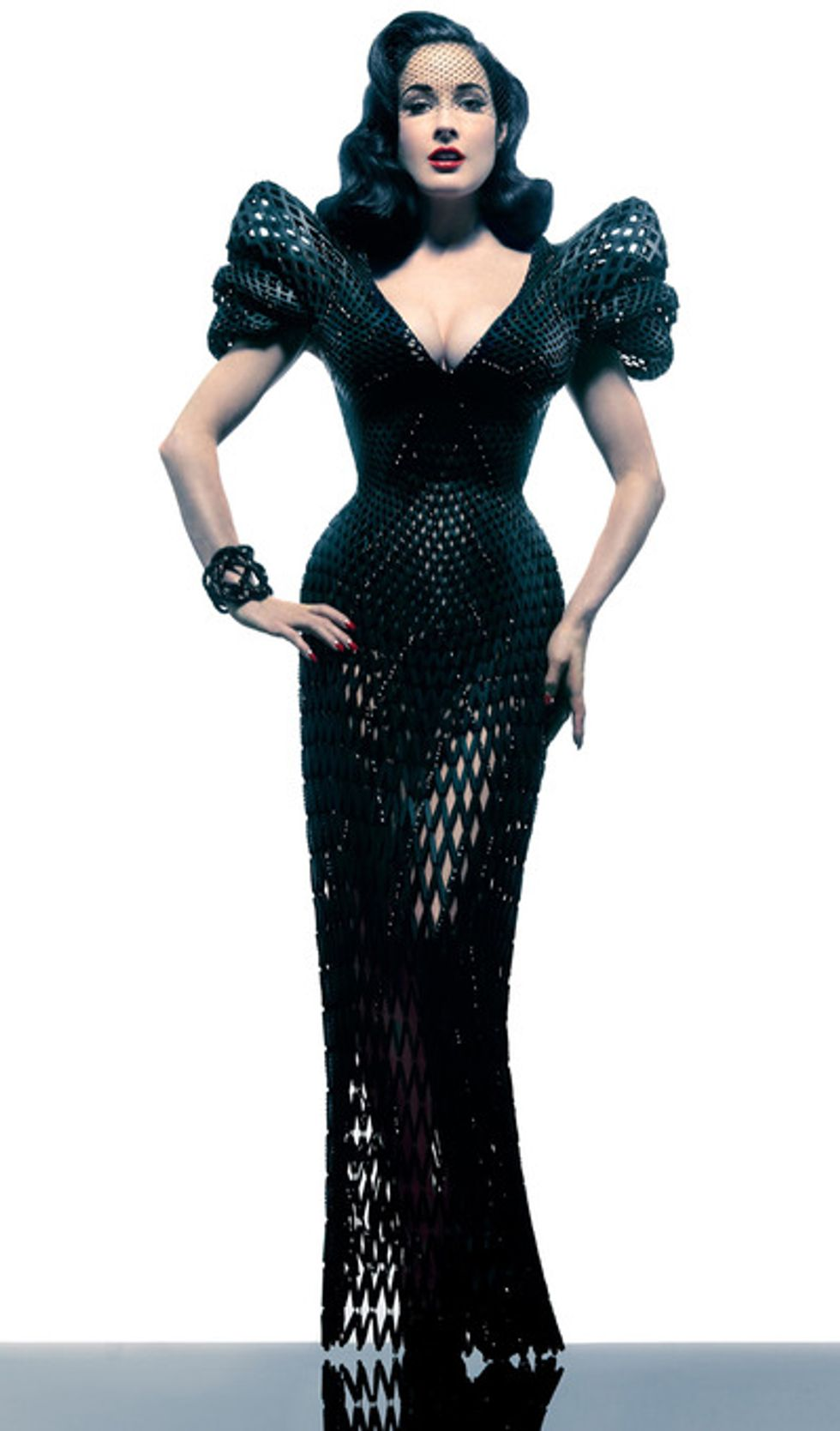 Designer Michael Schmidt On the World's First Fully Articulated 3D Printed Dress