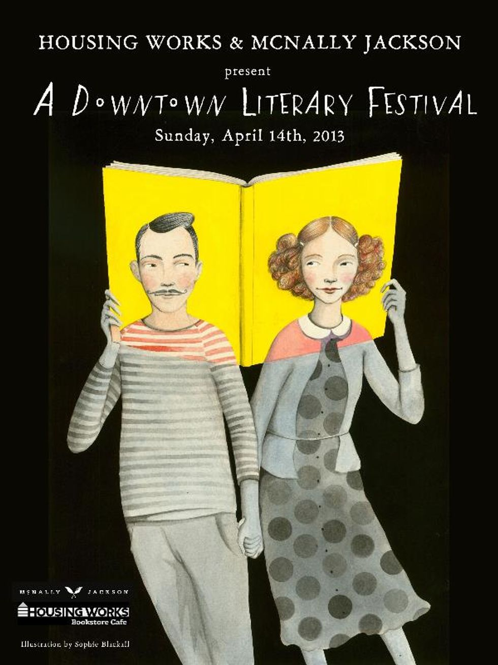 Booksellers Team Up for the Downtown Literary Festival