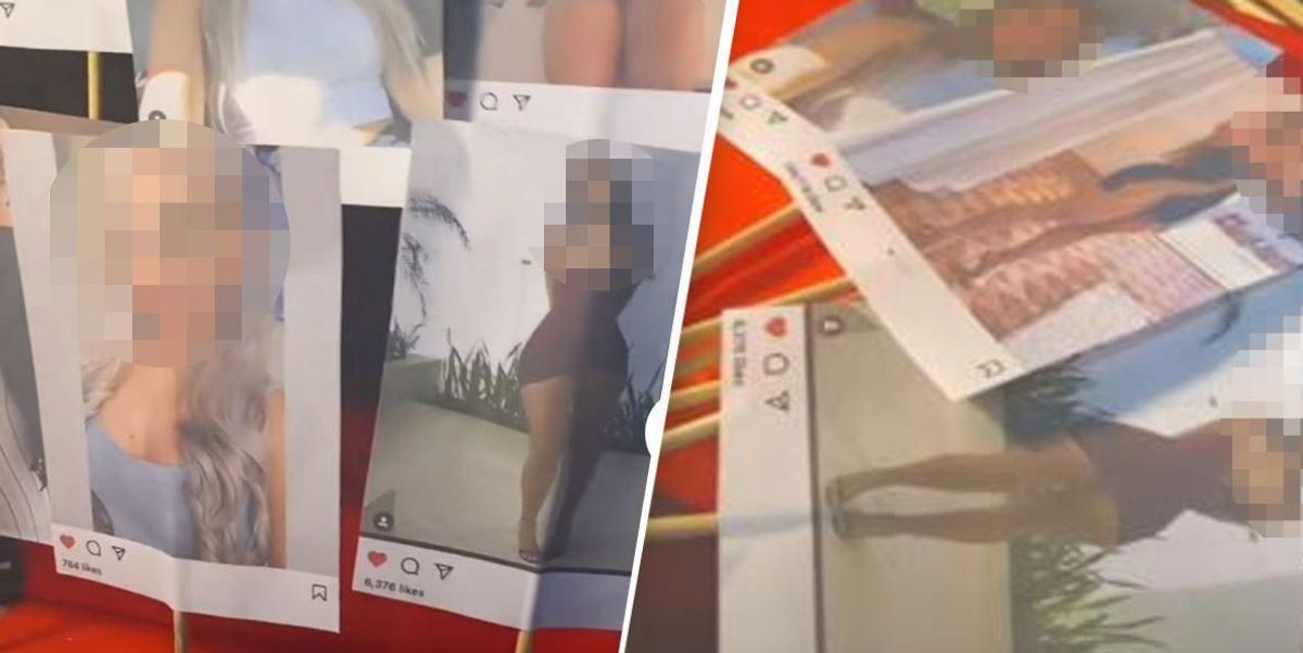 Woman Gives Husband Valentine's Day Gift of All Women's Photos He Liked Online