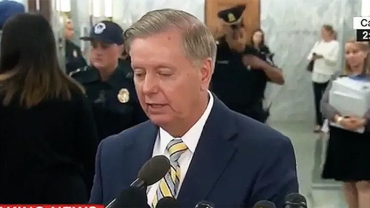 Lindsey Graham supports 9/11-style commission for attacks on the US Capitol