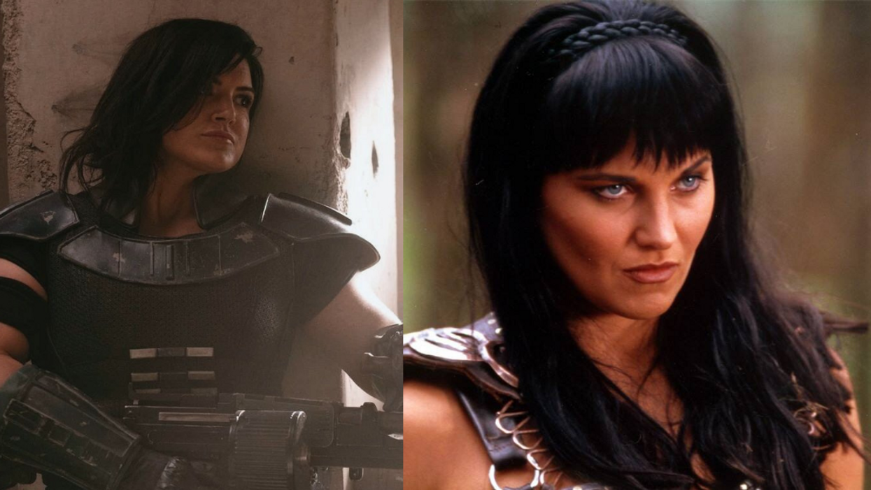 'Mandalorian' Fans Are Begging Disney To Recast Gina Carano's Role With Lucy Lawless, And Hell Yes