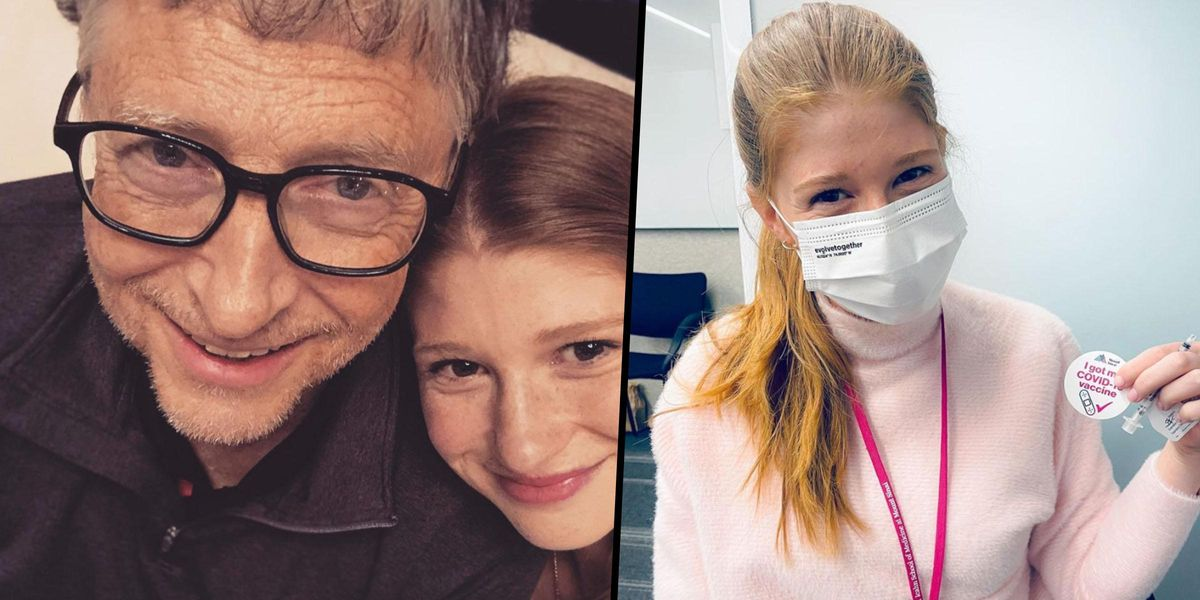 Bill Gates' Daughter Jokes About Getting COVID-19 Vaccine