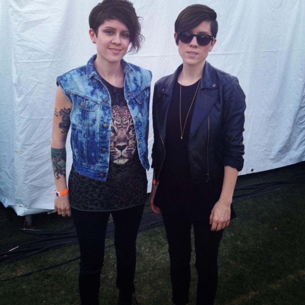 Coachella Chatz: Tegan and Sara
