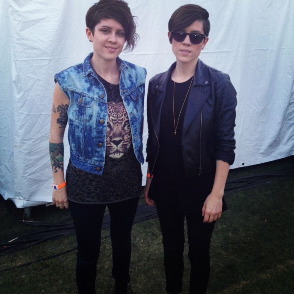 Coachella Chatz: Tegan and Sara