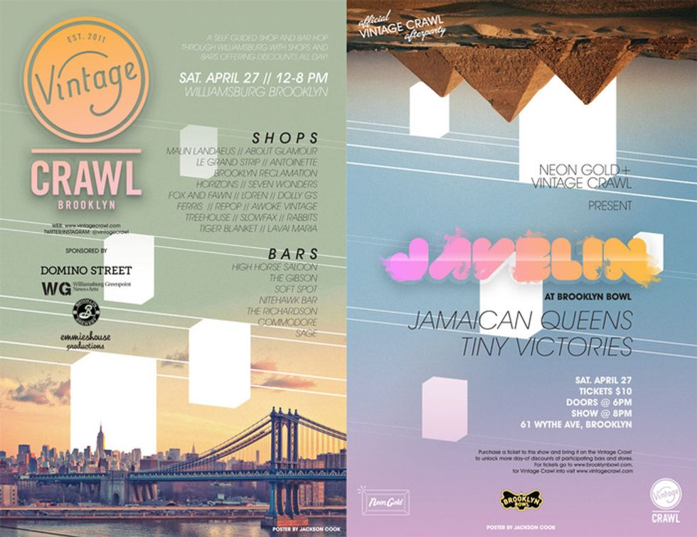 The Brooklyn Vintage Crawl Is Back on April 27th
