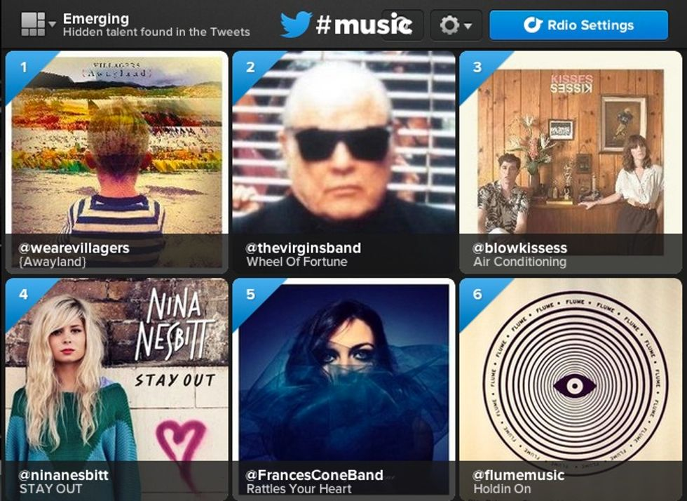 Who Are the Villagers? And Other Questions about Twitter Music