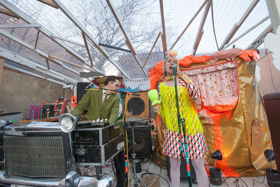 Scenes from Secret Project Robot's Spring Fever Festival