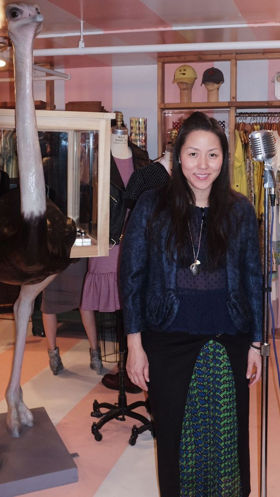 Scenes from Opening Ceremony's Trunk Show, Presented by American Express