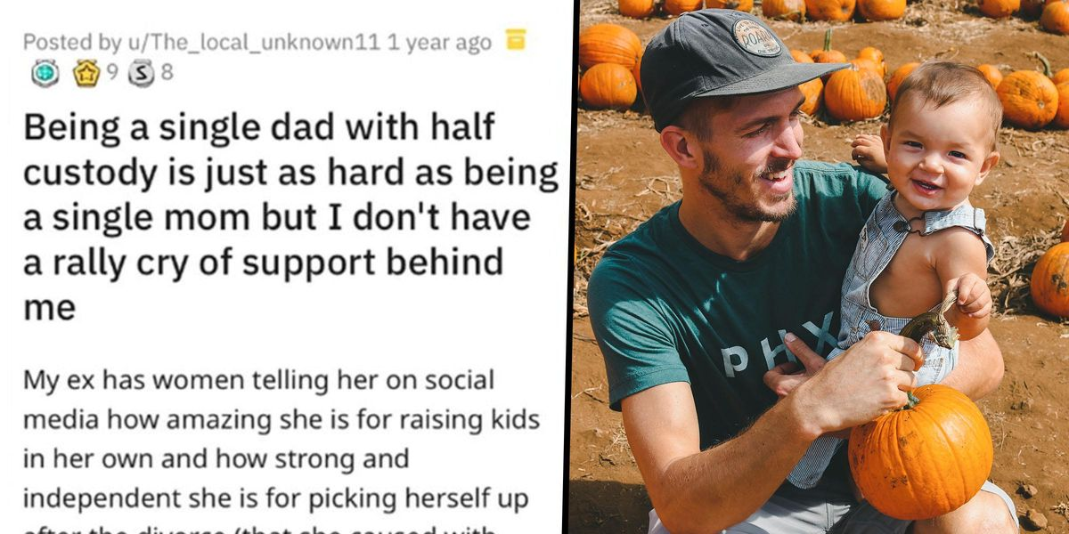 Single Dad Opens up About Not Having the Same Support as Single Moms