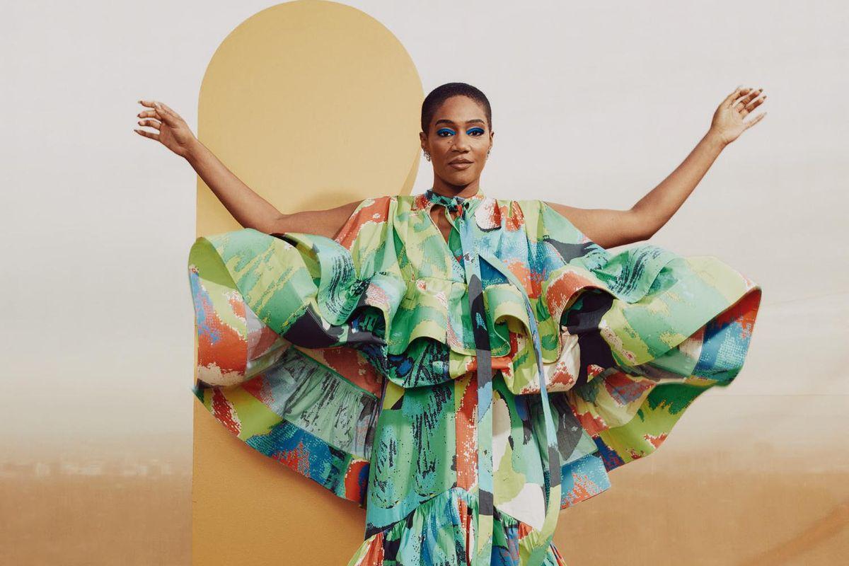 Tiffany Haddish Is a Fashion Goddess in Saks' New Spring Campaign