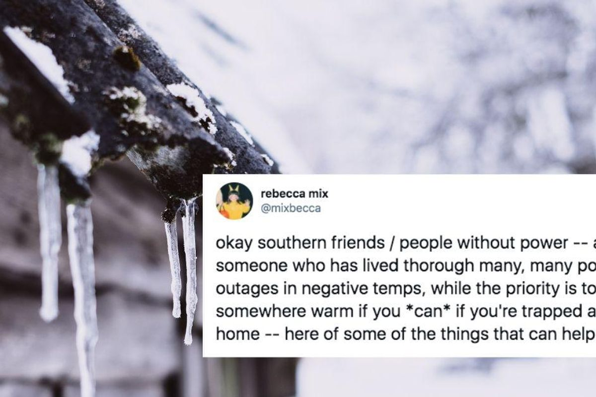 People from states with harsh winters are sharing tips with Texans for staying safe and warm