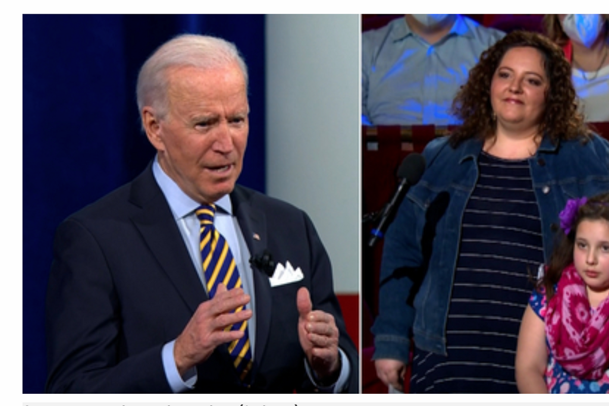 Joe Biden knew exactly what to say to a young girl scared about getting sick from COVID
