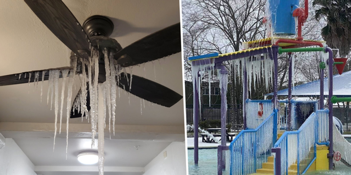 Shocking Photos Show Just How Freezing It Is in Texas Right Now