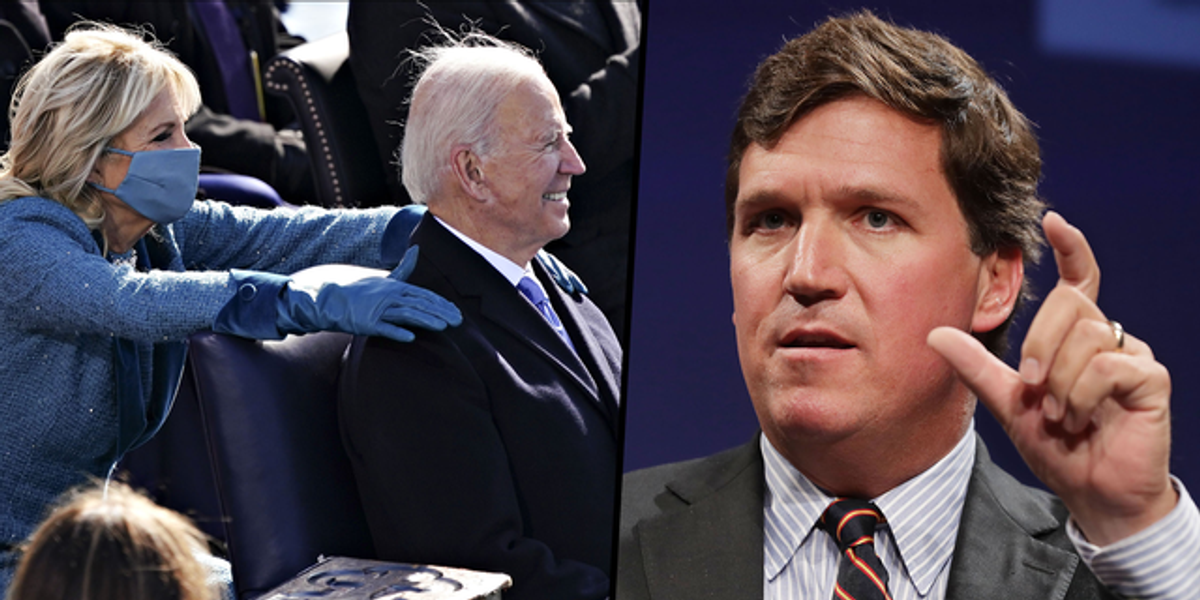 Tucker Carlson Sparks Outrage by Inventing Bizarre Conspiracy About Joe and Jill Biden's Marriage