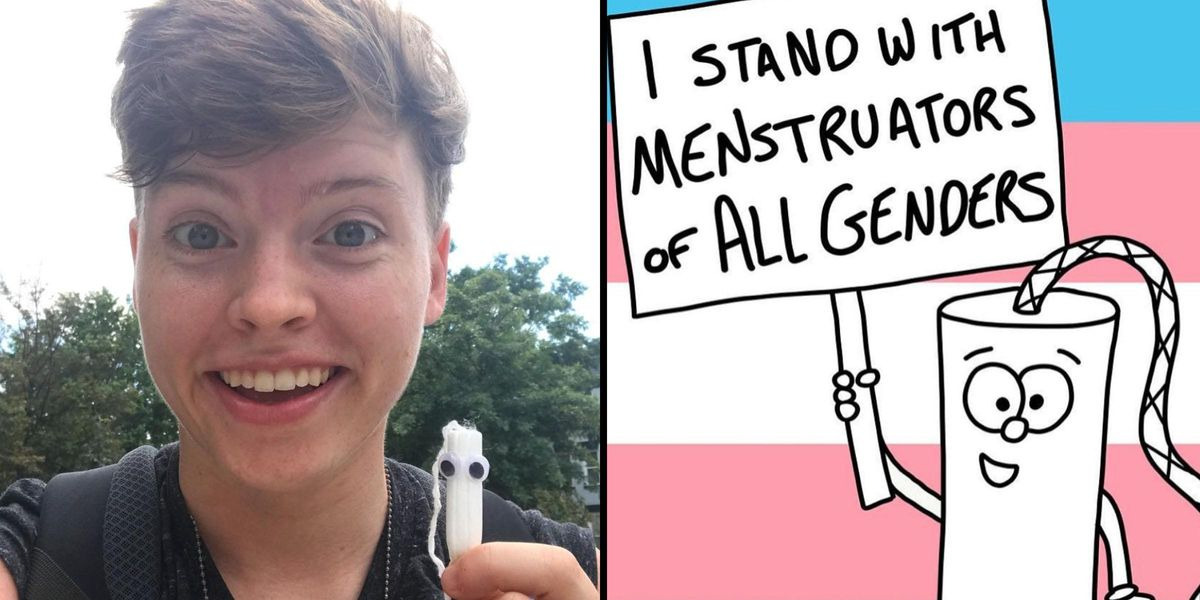 Non-Binary Person Explains What It's Like To Get Your Period When You're Not a Woman
