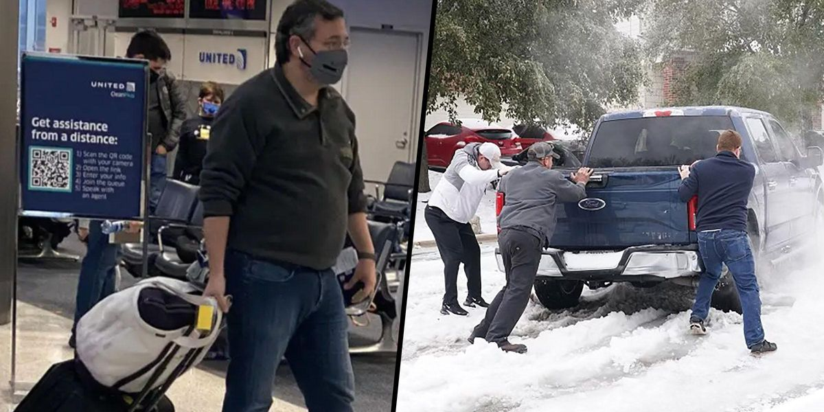 Ted Cruz Slammed for Fleeing To Cancun While Texas Freezes in Deadly Cold Snap