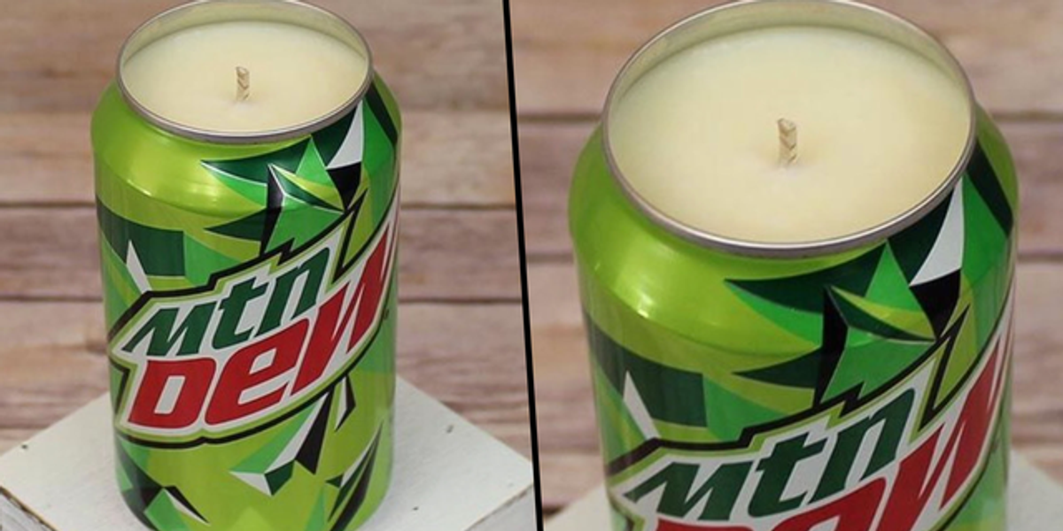 You Can Get a Candle That Smells Exactly Like Mountain Dew