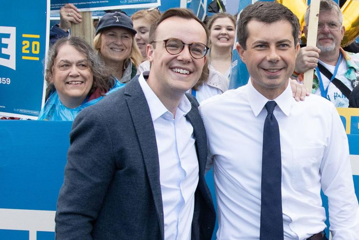Chasten Buttigieg reacts to Rush Limbaugh's death by throwing some perfectly polite shade