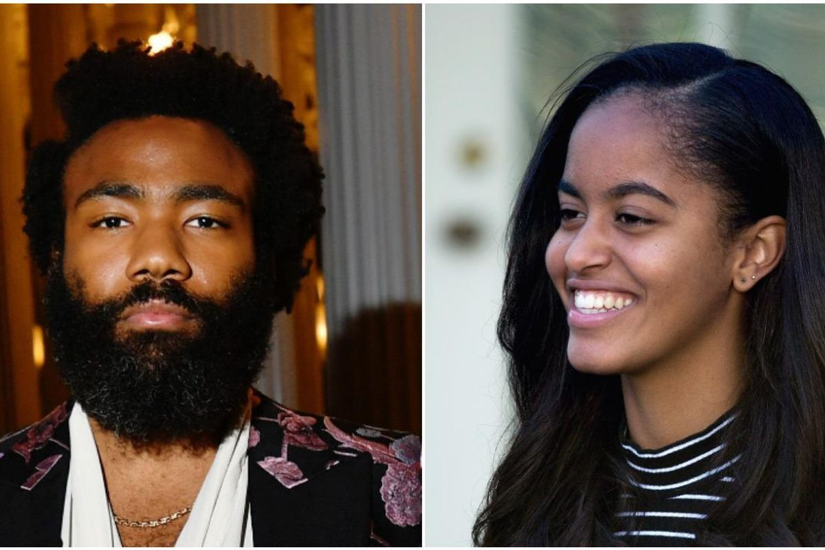 Malia Obama Is Reportedly Writing For Donald Glover's New Show