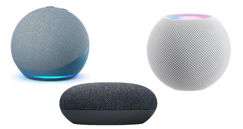 Echo Dot, HomePod Mini and Nest Mini