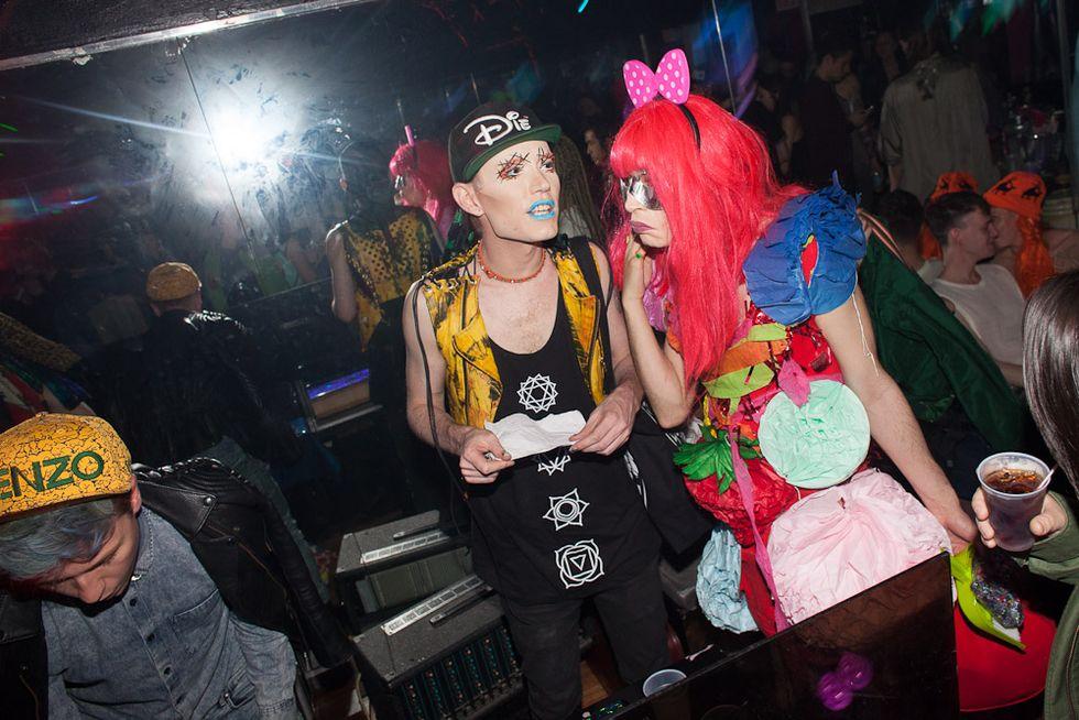 Scenes from Underground Bushwick Drag Party, Dizzyland