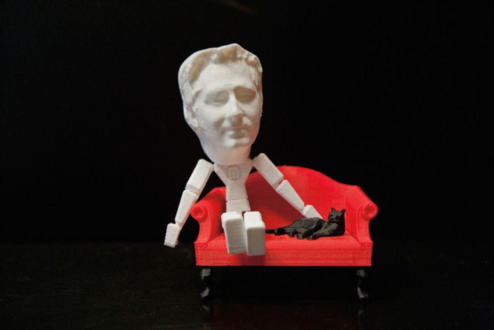 DIY Guru Bre Pettis Has Invented the First Affordable 3-D Printer