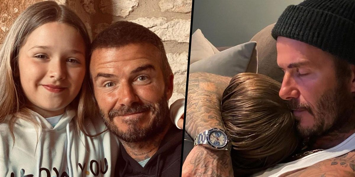 David Beckham Divides Fans After Posting Controversial Photo of His Daughter
