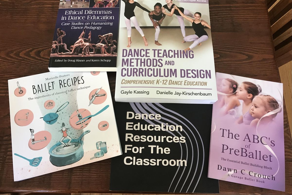 Stock Up Your Shelf With These 6 New Books on Dance Education