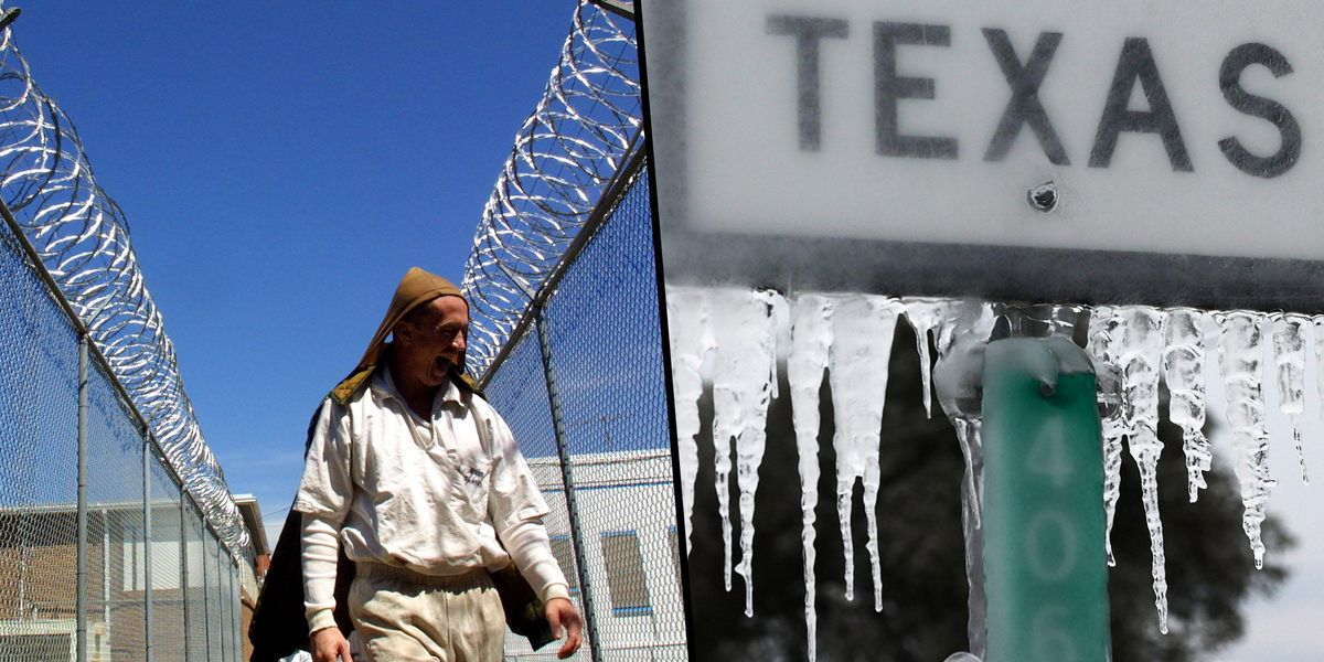 People in Texas Jails Are 'Freezing' Without Hot Food or Running Water