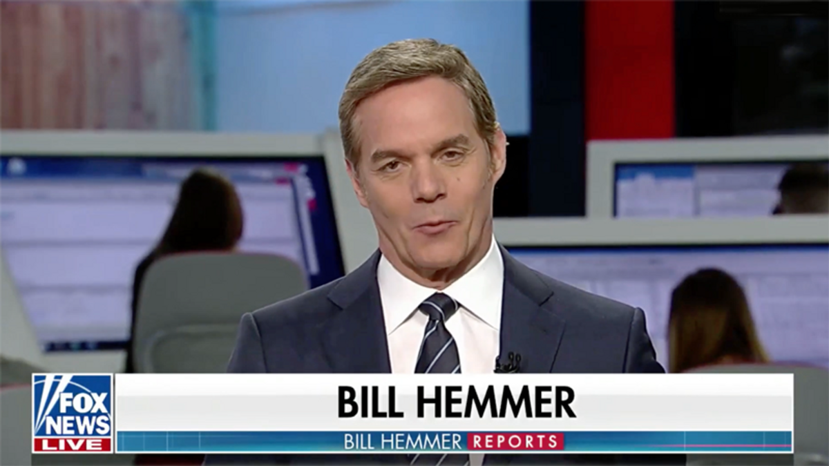 'Most pathetic person on Fox': Host Bill Hemmer ridiculed for fear Bible 'characters' will be canceled