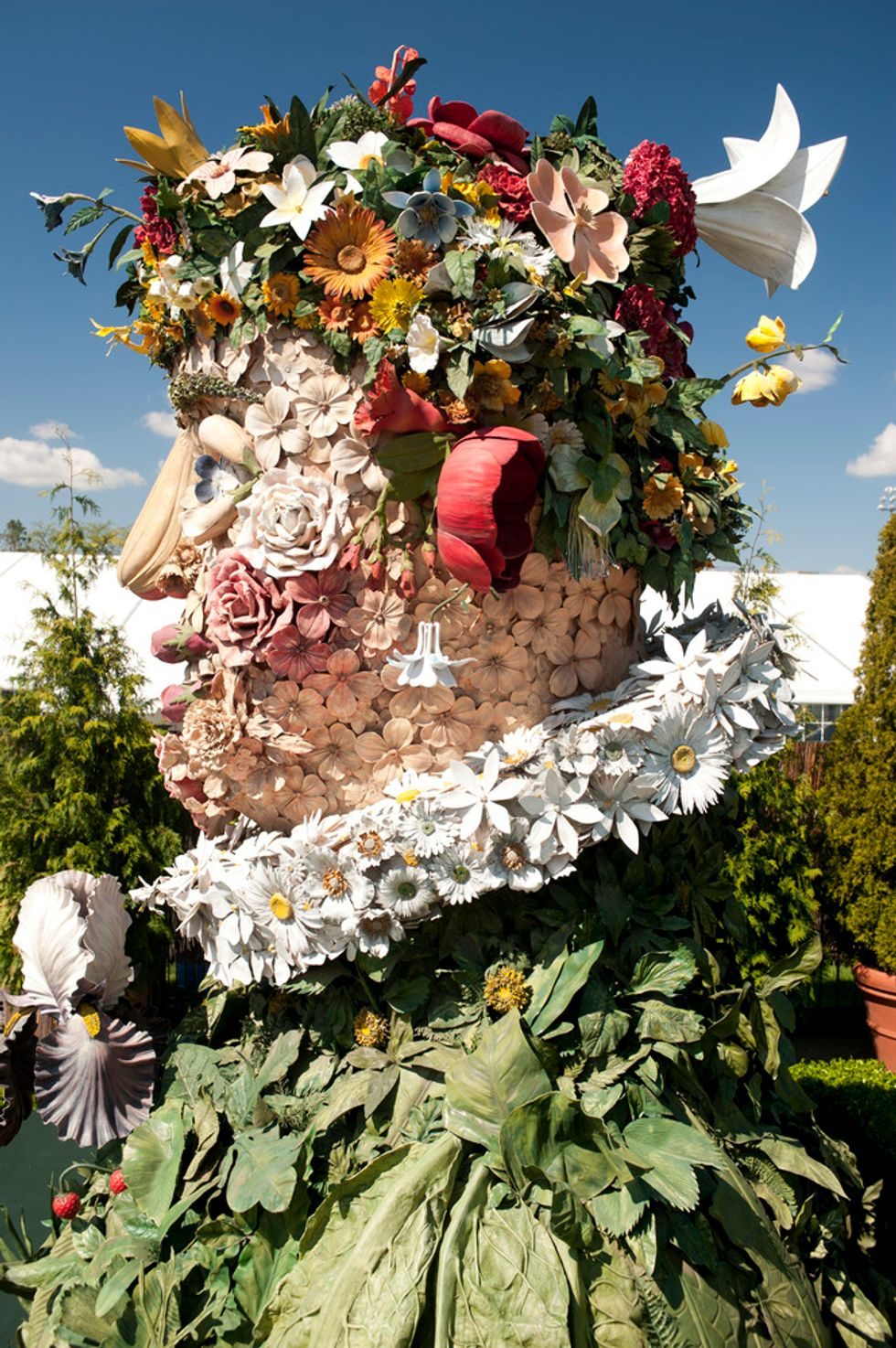 Arcimboldo in the Round: Exploring the New Sculptures at the New York Botanical Garden