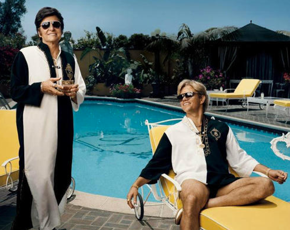 A Brief History of Ladies Loving Liberace