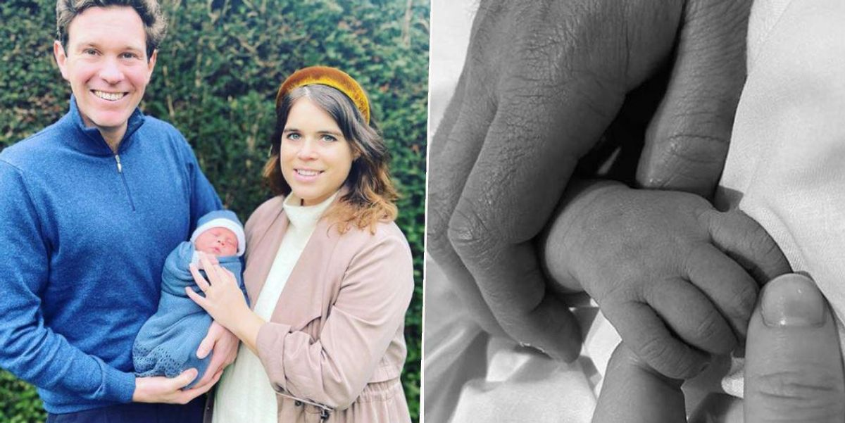 Princess Eugenie Names Baby Boy as She Shares First Picture