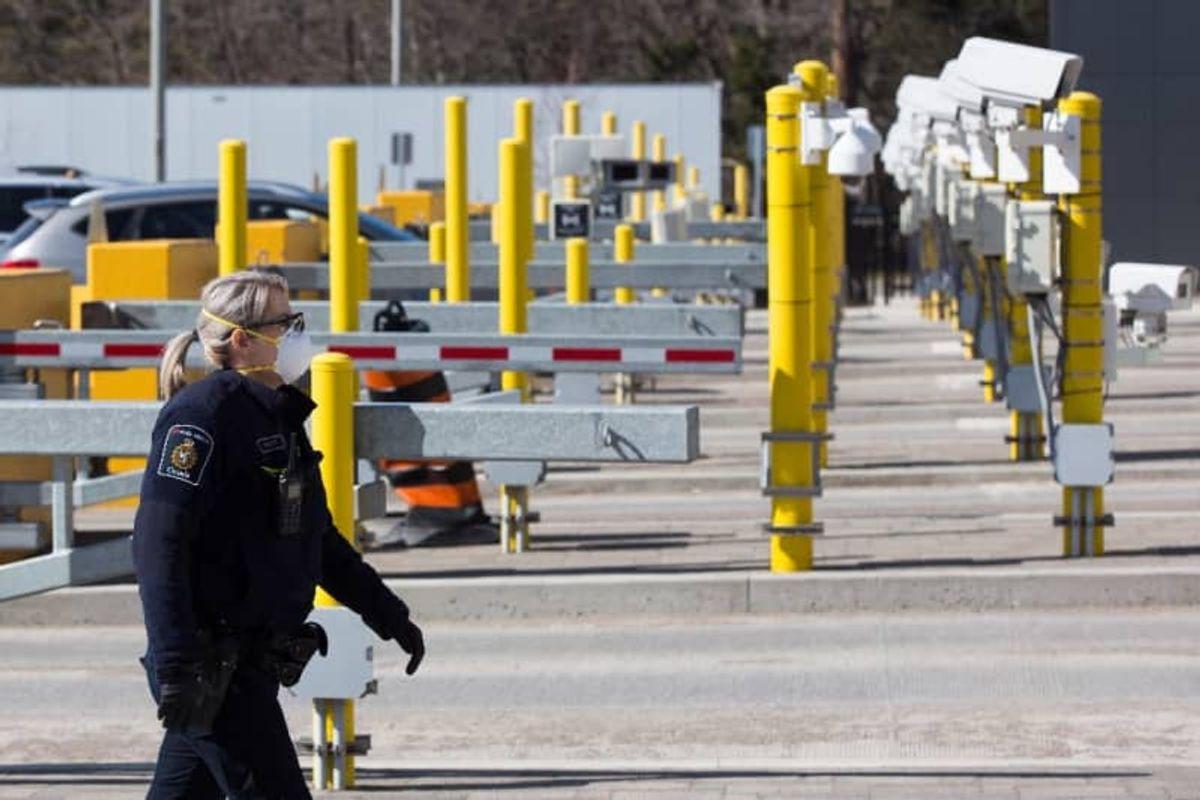 Canada to provide Covid swab tests at US border