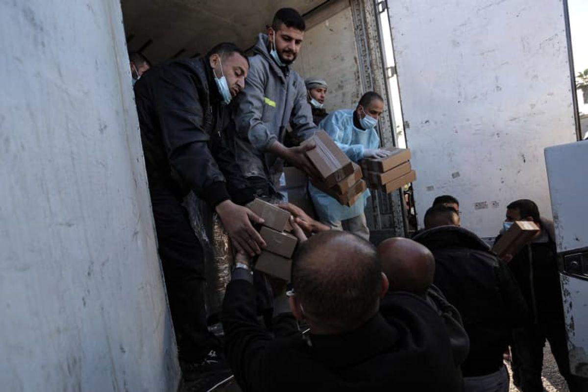 Gaza Strip's vaccination campaign kicks off using Russia's Sputnik V
