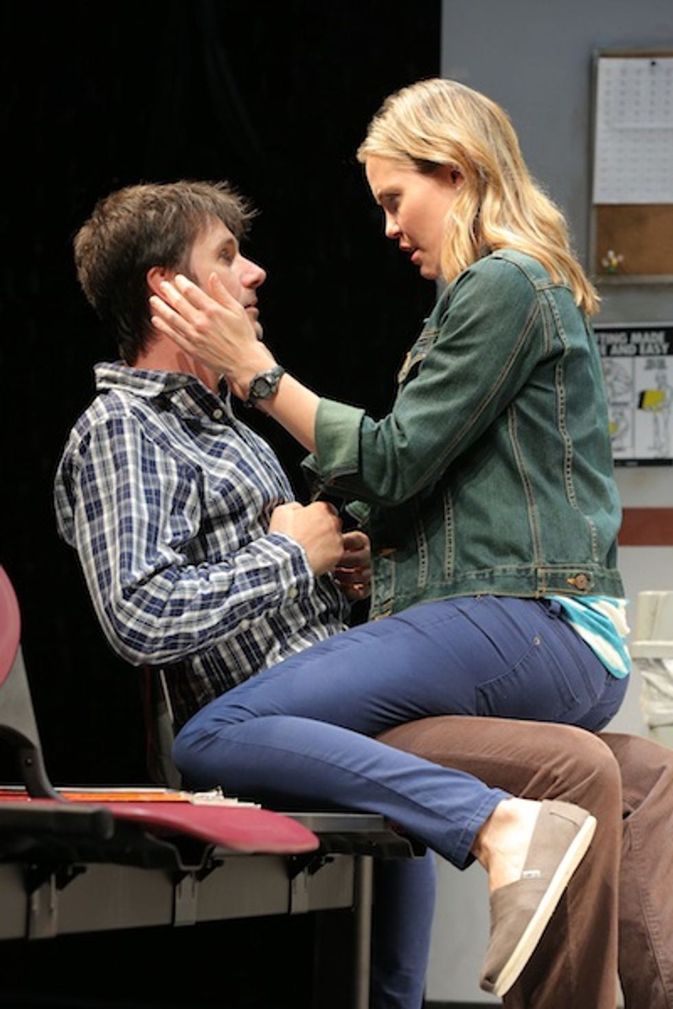 """Leslie Bibb On Playing 'the Pretty One' in Neil LaBute's """"Reasons to Be Happy"""""""